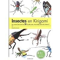 Insectes en kirigami: Un univers fascinant en 3D à créer avec une simple paire de ciseaux !