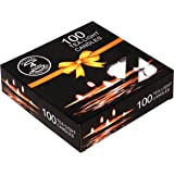 Enjoy Wax Tealight Candles (10 g, White, 3 Hours Burn Time) - Pack of 100