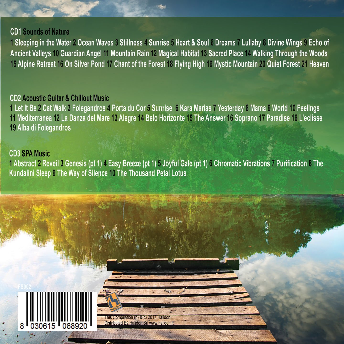 3CD 50 Songs Relax, Musica Rilassante, Peaceful, Wellness Relax, Lounge  Music, Relaxing, Meditation, Sound Of Nature, Acoustic Guitar, Chillout  Music,