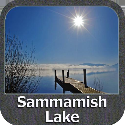 Lake Sammamish Washington GPS Map Navigator Lowrance-gps-software