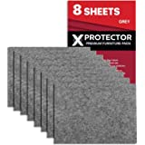 Meubilair Pads Vloerbeschermers X-PROTECTOR 8 PCS 20x16cm - Vilten Pads voor Stoelpoten - Premium Meubilair Vilten Pads voor