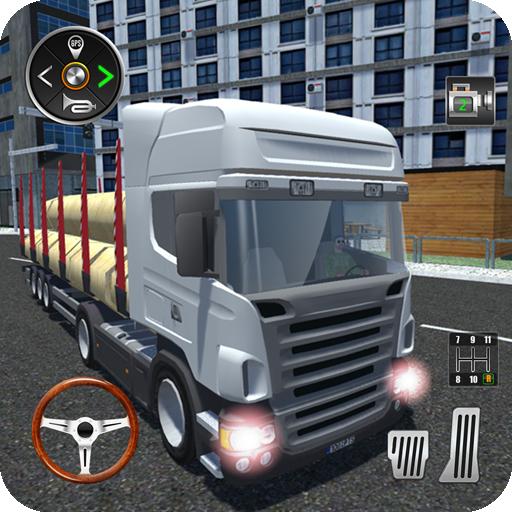Real Truck Cargo Transport 3D