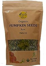 Food 4 You Raw Pumpkin Seeds 200 Gms (Organic)