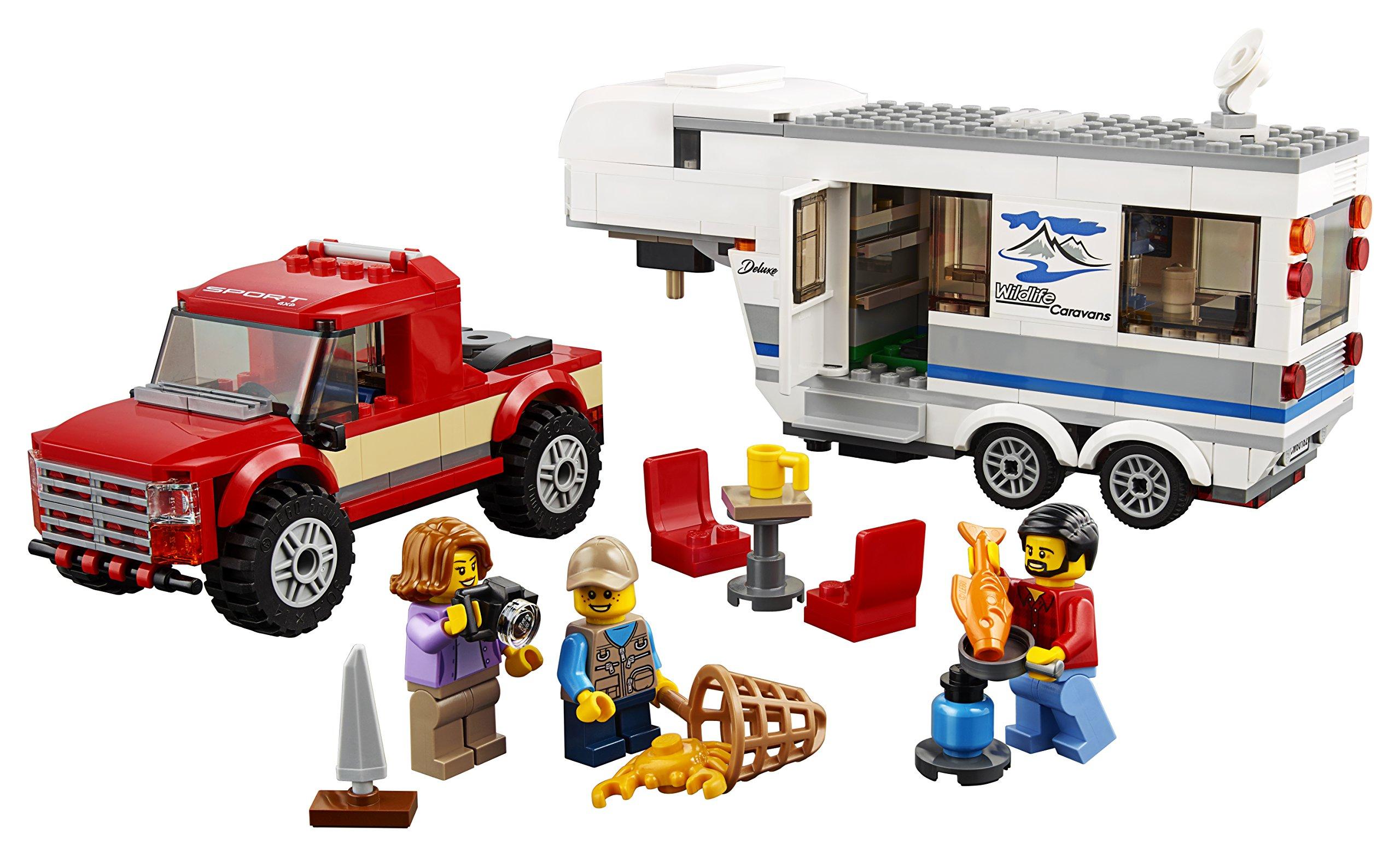 LEGO- City Pickup e Caravan, Multicolore, 60182 2 spesavip