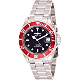 Invicta Men's 'Pro Diver' Automatic Stainless Steel Diving Watch, Color:Silver-Toned (Model: 22830)