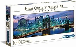 Clementoni 39434 Clementoni-39434 Collection Panorama-New York Brooklyn Bridge-1000 Pieces Multi-Colour