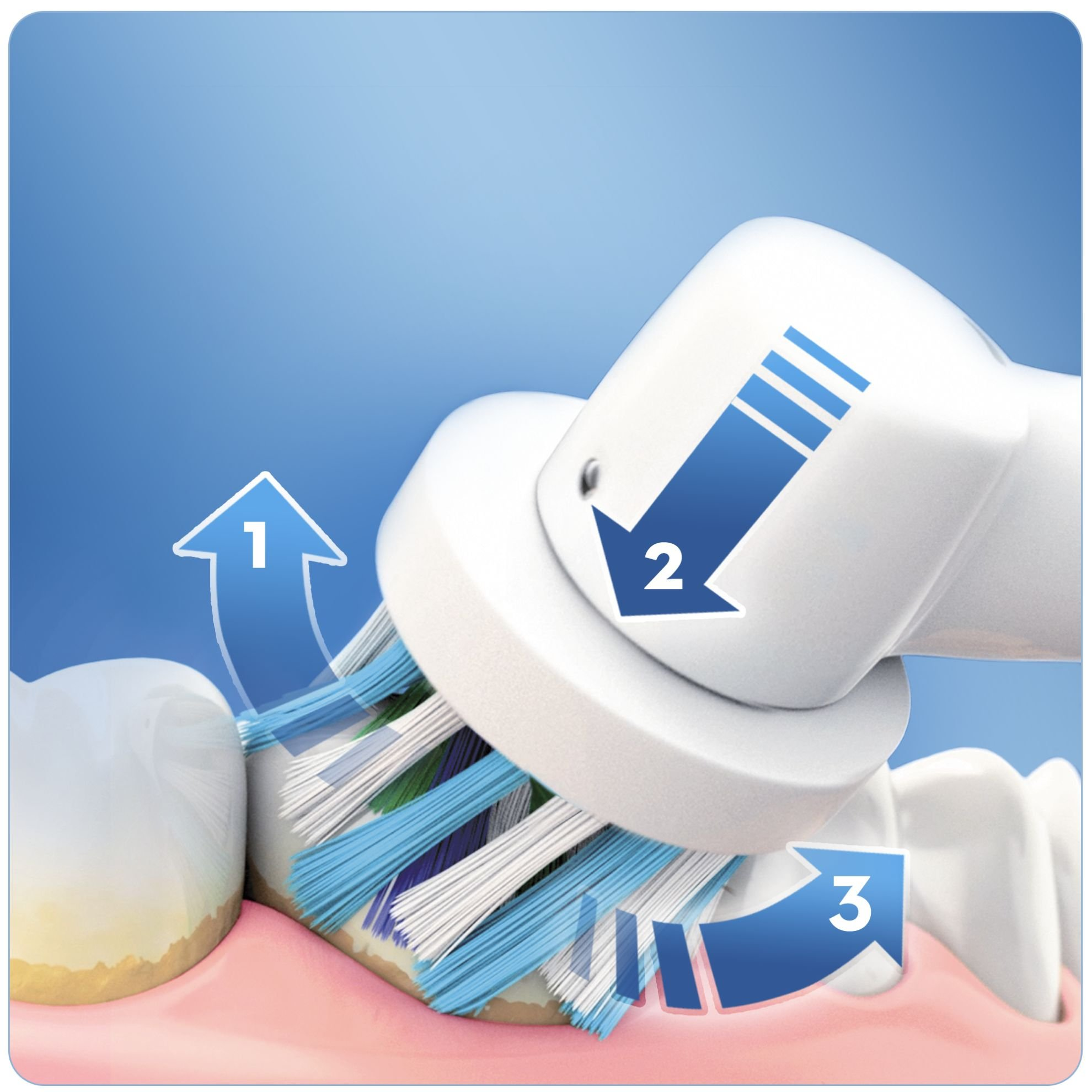 Oral-B Pro 750 Crossaction Spazzolino Elettrico Ricaricabile ... f1cf1571cd81