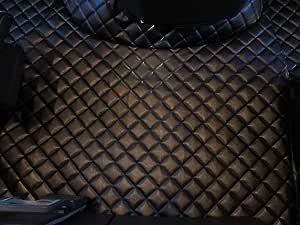 Texmar Fußmatten Für Lkw Fh 4 Automat Ab 2014 Linkslenker Fahrzeug Aus Umweltfreundlichem Leder Schwarz Auto