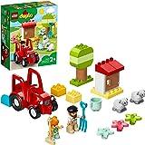 LEGO 10950 DUPLO Town Boerderij Tractor & Dierenverzorging Speelgoed met Figuren van Schapen en Boeren voor Kinderen vanaf 2