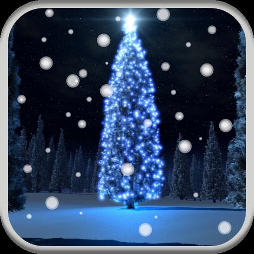 Christmas Tree HD Live Wallpaper