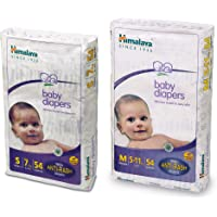Himalaya Baby Small Size Diapers (54 Count) & Himalaya Baby Medium Size Diapers (54 Count)