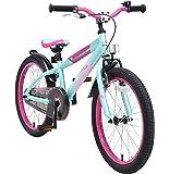 BIKESTAR Kinderfahrrad 20 Zoll für Mädchen und Jungen ab 6 Jahre | 20er Kinderrad Mountainbike | Fahrrad für Kinder…