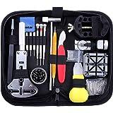 Vastar Kit de Réparation de Montre, Ensemble d'outils de Barre de Ressort Professionnel de Réparation de Montre, Ensemble d'o