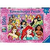 Ravensburger- 12873 Puzzle 150 pièces XXL Les rêves Peuvent Devenir réalité Disney Princesses Princess Enfant