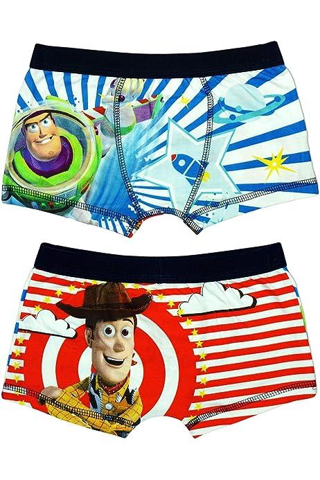 Disney Jungen Offiziell Toy Story Woody Buzz Lightyear Badehose Passform Boxer Shorts Gr/ö/ßen von 3 bis 7 Jahre