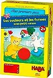 HABA 5975 - Mes premiers jeux - Les couleurs et les formes avec petit ourson (Fabriqué en Allemagne)