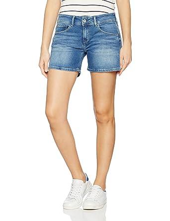 short femme pepe jeans,short balboa pepe jeans rouge short