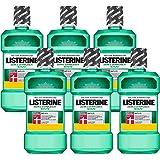 Listerine Zahn- & Zahnfleischschutz Mundspülung, umfassendes Mundwasser, antibakteriell für gesundes Zahnfleisch (6 x…
