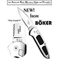 The Automatic Knife Resource Guide and Newsletter Vol 4 No. 3
