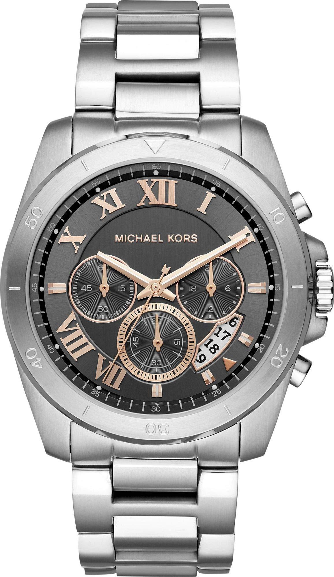 Michael Kors Reloj Analogico para Hombre de Cuarzo con Correa en Acero Inoxidable MK8609