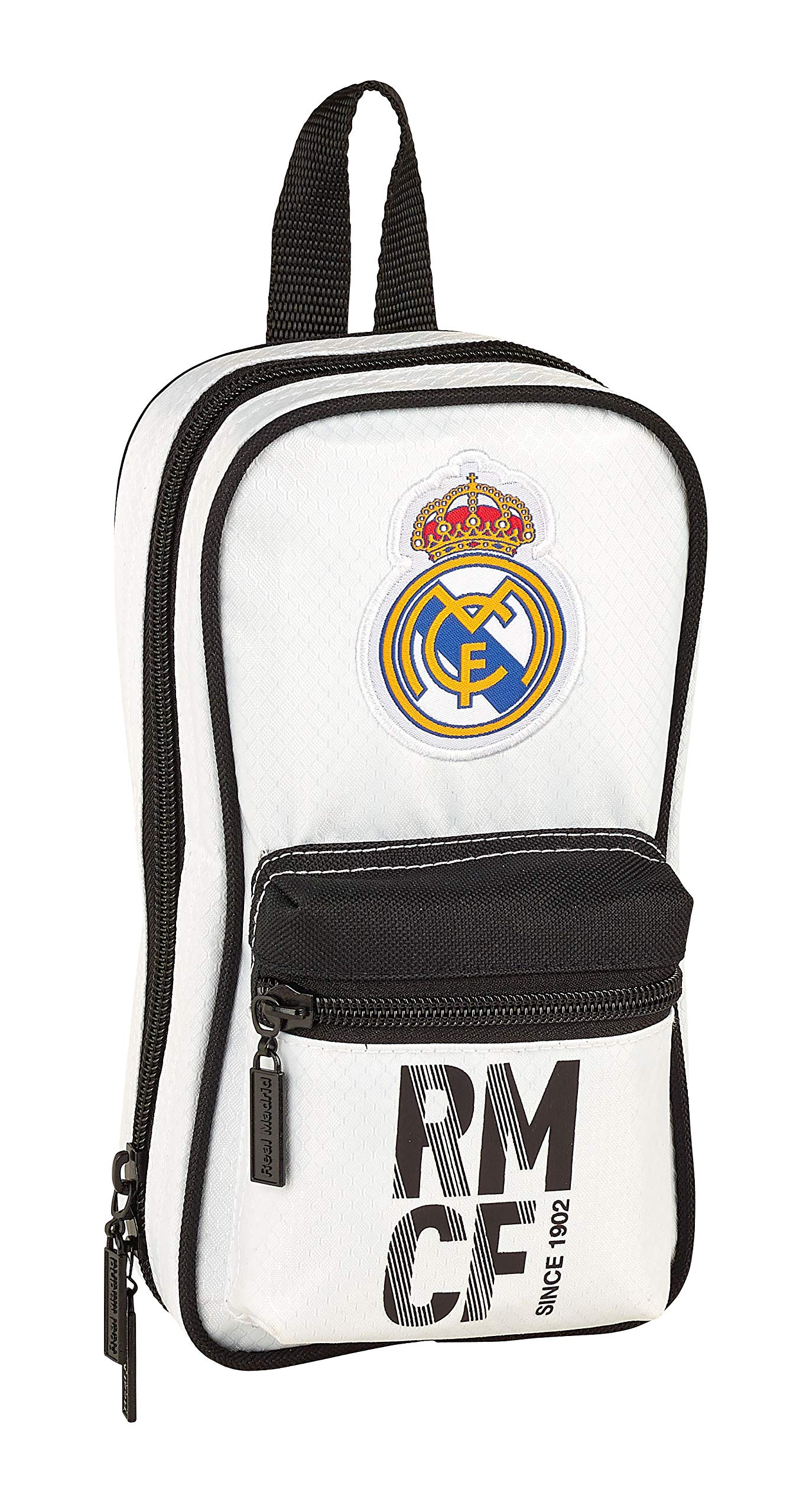 Real Madrid 411854847 2018 Neceser, 23 cm, Blanco