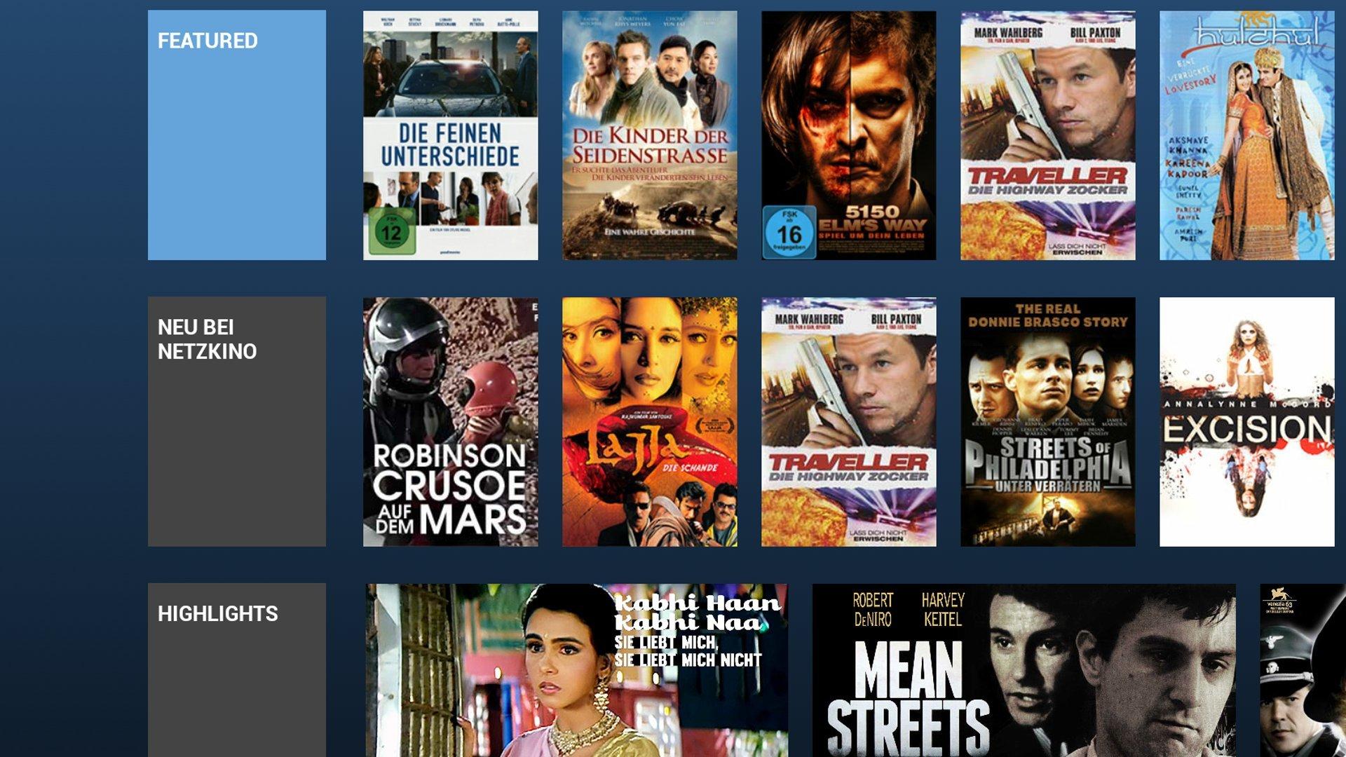 Netzkino, Filme, Movies, Videos, TV - legal und kostenlos Spielfilme schauen - 2