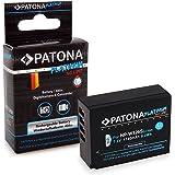 PATONA Batterie Platinum NP-W126S 1140mAh pour Fujifilm FinePix X-T20 | X-H1 qualité sûre et certifiée