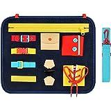 Teaisiy Busy Board per Bambini - Migliori Giocattoli e Regali [Giocattoli Montessori, Giocattoli Educativi, attività Manuali
