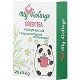 My Feelings, tè verde in polvere, 20 bustine da 12 g