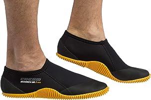 Cressi Minorca Shorty Boots, Calzari Bassi per Immersione e Snorkeling, Premium Neoprene, 3 mm Unisex Adulto