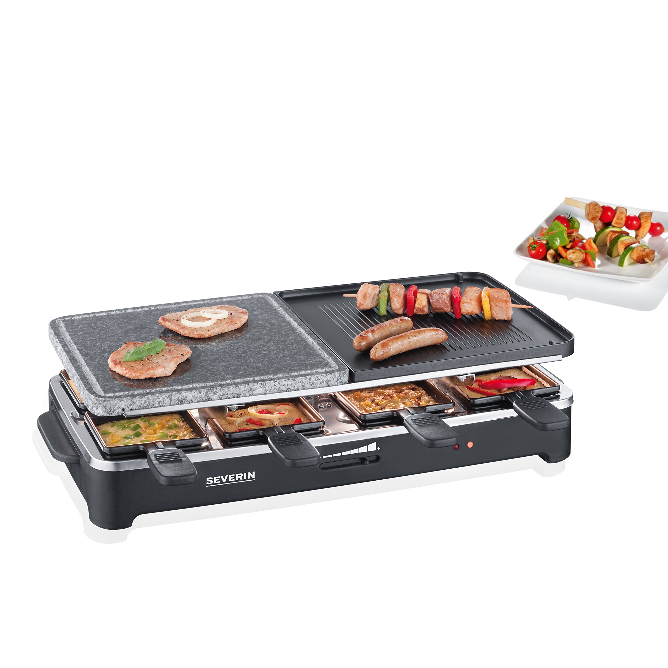 appareil raclette 8 personnes gril cr pes pierre cuisson barbecue cuisine hiver ebay. Black Bedroom Furniture Sets. Home Design Ideas
