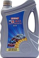Servo MGO 5W-30 API SG Petrol Engine Oil for Maruti (3.5 L)