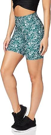Marque Amazon - AURIQUE Shorts de Cycliste Imprimés Femme