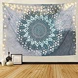 Alishomtll Mandala Wandteppich Wandbehang Tapisserie Indische Yoga Hippie Tuch Böhmische Wandtuch Wandkunst Schlafzimmer (210