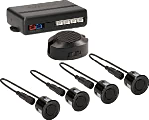 Vsg Einparkhilfe Mit Einem Akustischen Signalgeber Und Inklusive 4 Sensoren In Schwarz Für Hinten Auto