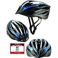 Fahrradhelm Dunlop HB13 für Damen, Herren, Kinder, EPS Innenschale, Abnehmbares Visier für optimalen Blendschutz…