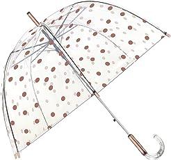 SMATI Stick Klar Regenschirm – Winddicht – Vogelkäfig Dome Siehe durch