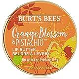 Burt's Bees 90392-14 100 % Naturligt Fuktighetsgivande Läppsmör med Apelsinblommor och Pistasch, 11,3 G