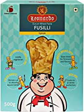 Leonardo Durum Wheat Pasta: Fusilli, 500g