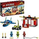 LEGO 71703 NINJAGO Storm Fighter Gevecht Speelgoed Jet Bouwset, Masters of Spinjitzu voor Kinderen van 4 Jaar en Ouder