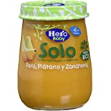 Hero Baby - Pera, Zanahoria y Plátano, 120 g