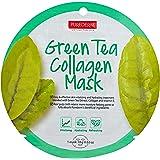 قناع ورقي من الكولاجين بخلاصة الشاي الأخضر من بيورديرم - قطعة واحدة