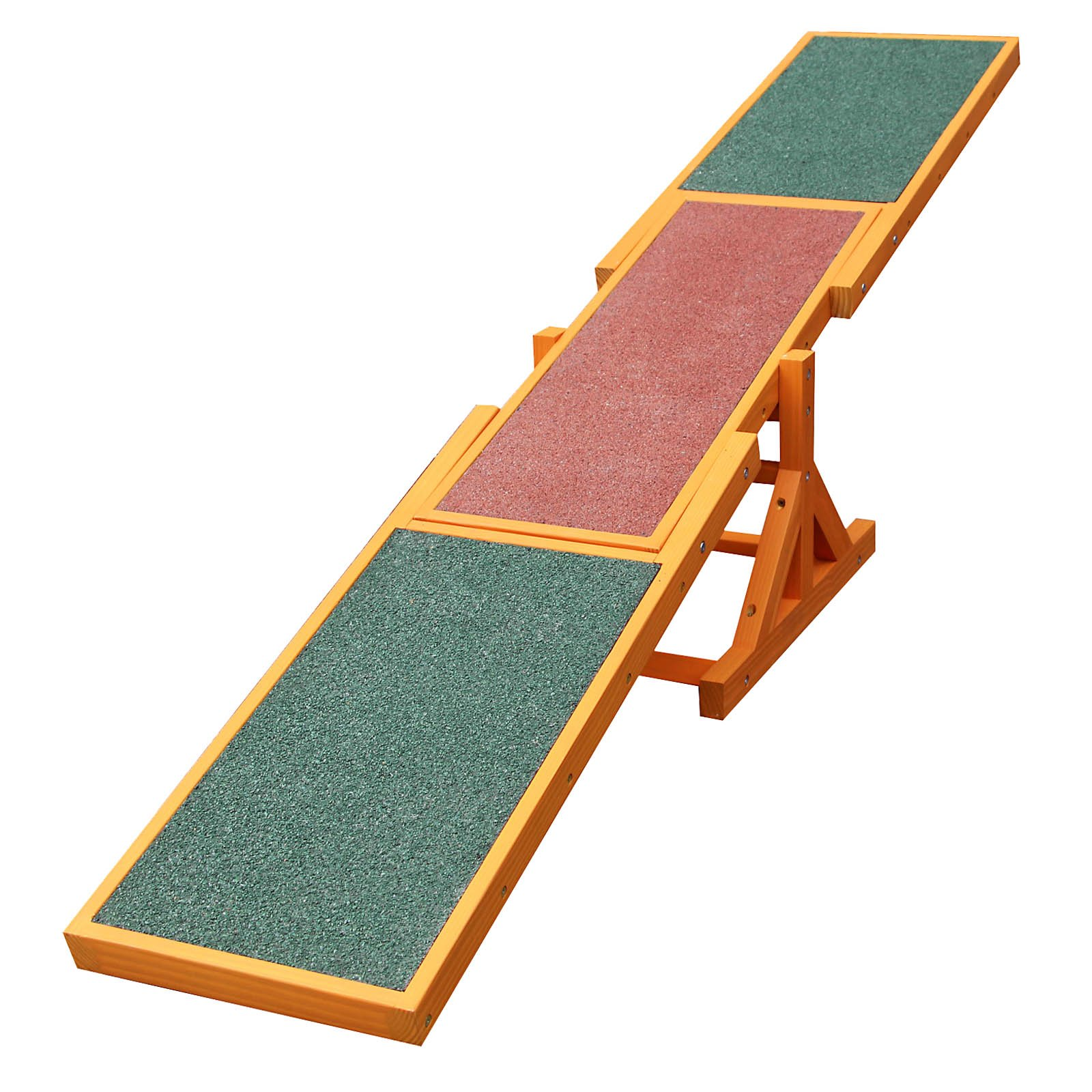 WilTec Dog Pet Seesaw Agility Training Equipment Exercise Toy Puppet Play Supllies