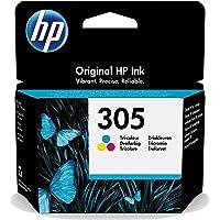 HP 3YM60AE 305 Original Ink Cartridge, Tri-color, Single Pack
