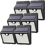 【Lot de 6 - 150 LED - Puissante - étanches】Feob Lampe Solaire Extérieur Détecteur de Mouvement Lumière Solaire éclairage Exté