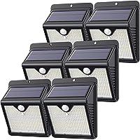 【Lot de 6 - 150 LED - Puissante - étanches】Feob Lampe Solaire Extérieur Détecteur de Mouvement Lumière Solaire éclairage…
