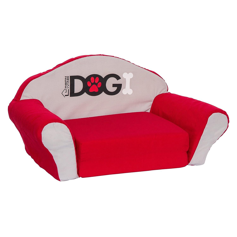 DOGI Pet Dog Sofa Lounge Beds 52 x 32 x 28 cm Medium Black