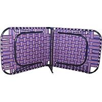 Single Folding Bed - ( blue)