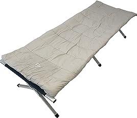 EXPLORER Campingbett Feldbettauflage Alu Bett Gästebett Zelt Outdoor, weiche Baumwollauflage, verschiedene Größen
