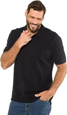 JP 1880 Menswear Big & Tall Plus Size L-8XL Classic Cotton Pique Polo Shirt 702560
